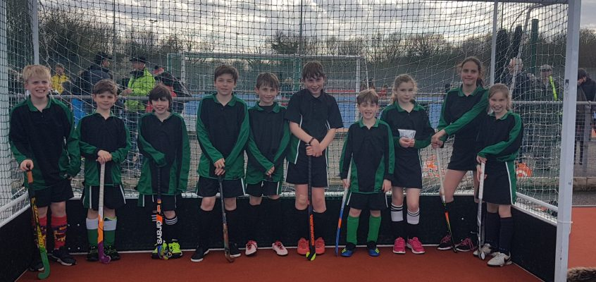 Brilliant results on the Hockey pitch (even in 3 hail storms!)