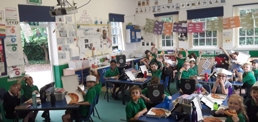 Year 3 Pizza Express