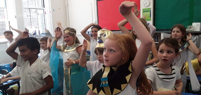 Egyptian Day!